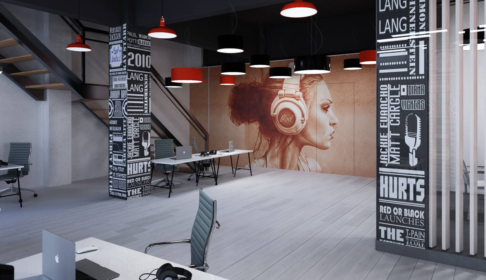 Офис «Sony Music»; Москва, Хлебзавод